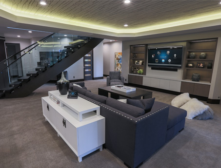 Greenville Home Theater Design